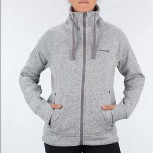 Avalanche   Womens Gray Knit Jacket